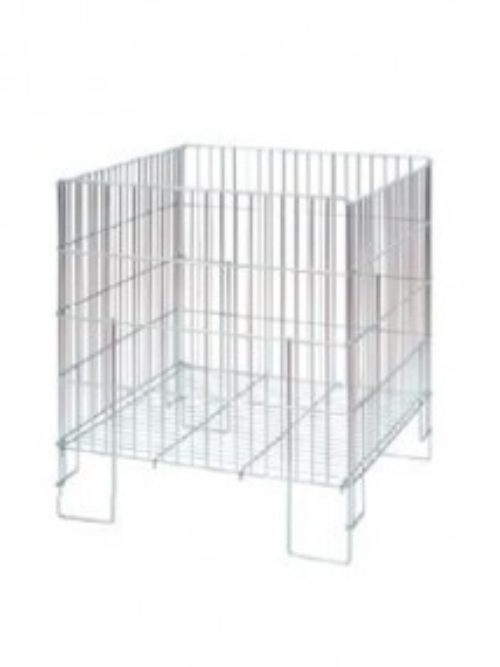 Metal shop baskets made of wire dim. 80x63x63cm