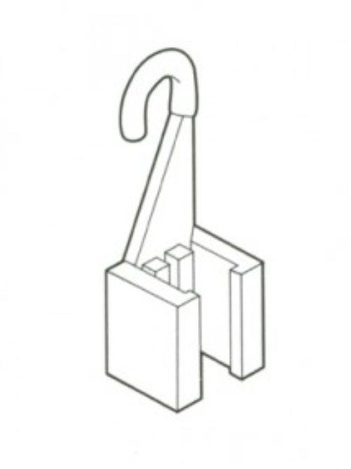 Kuka za kačenje promo materijala 1