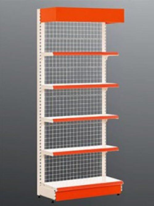 Metalni raf sa žičanim leđnim panelom