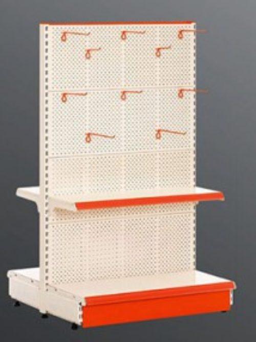 Samostojeća jedinica sa panelima od perforiranog lima