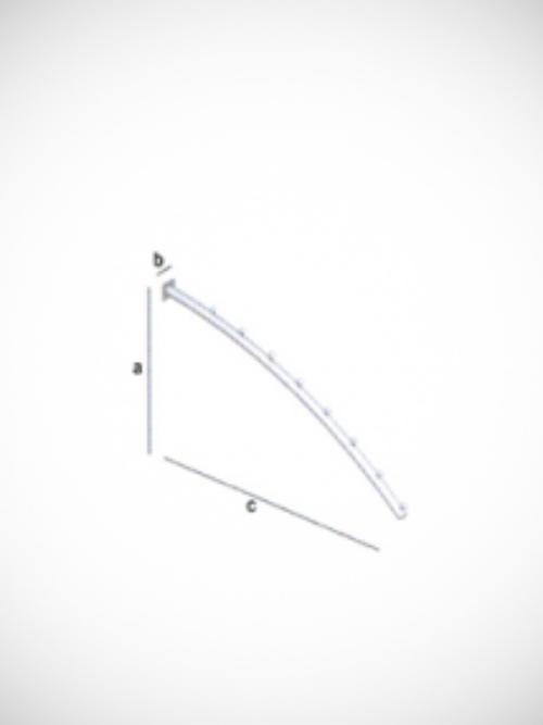 Lučni nosač 24cm mat