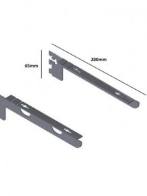 Shelf carrier 28cm matte – Queen