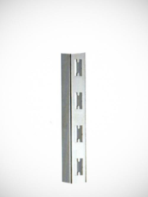 Canalina vertikala hromirana P dvoredna 254,5cm za zid korak 50mm