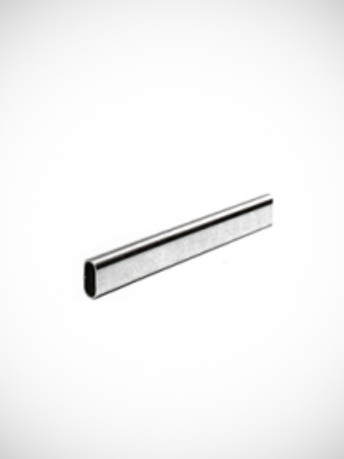 Oval bar chrome 3m