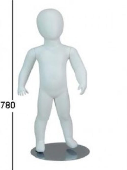 White child mannequin doll – faceless