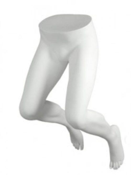 Noge muške savijene