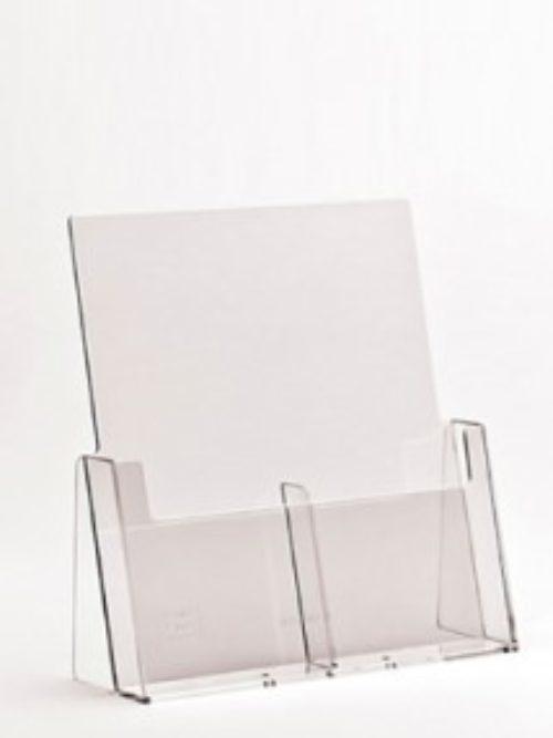 Stalak za flajere A4 format 2džepa