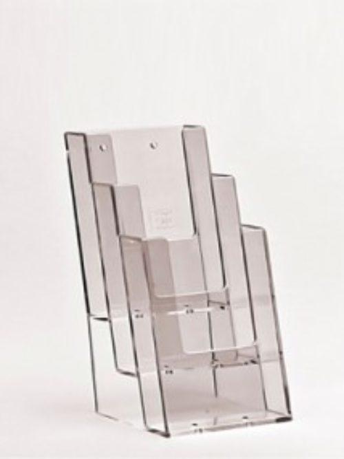 Stalak za flajere za zid ili na stolu A4 format 3 nivoa