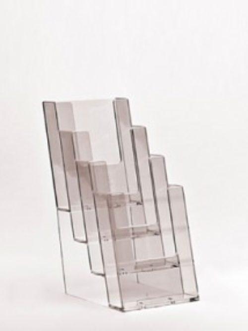 Stalak za flajere za zid A4 format 4 nivoa