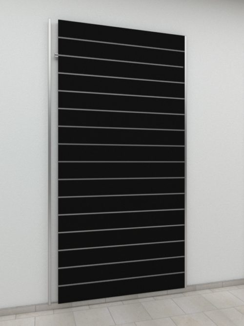 MDF Panel Black 15 cm spacing – Abbott, Arkwall