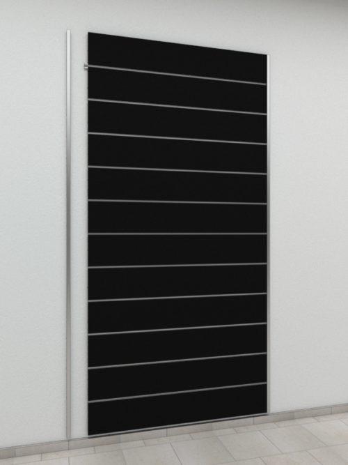Panel Crni Razmak 20 cm