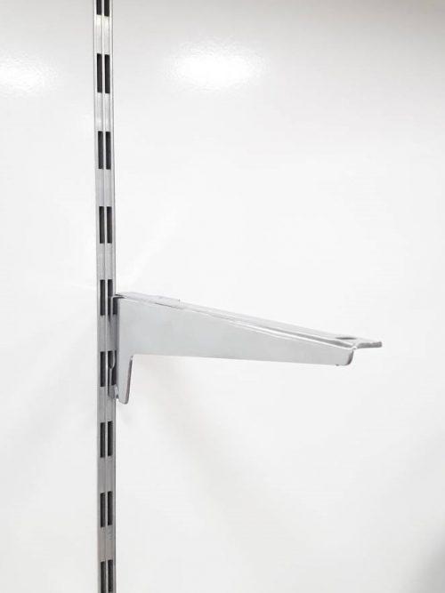 Nosač polica 25 cm hromiran korak 50mm