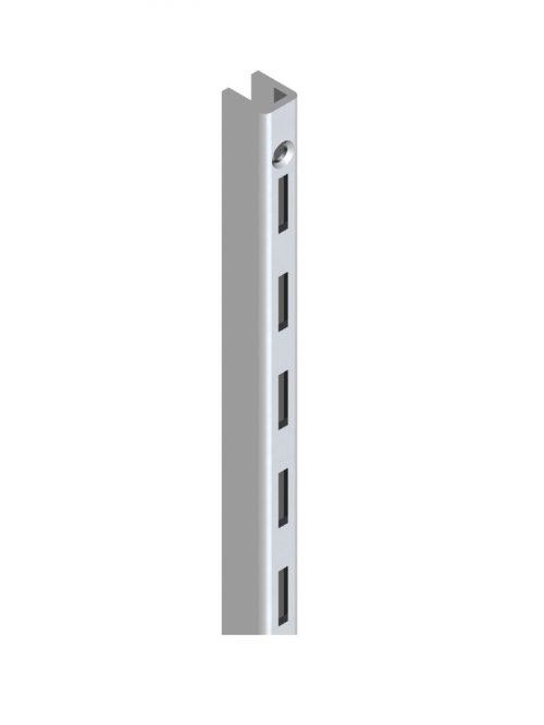 Queen vertikala hromirana P jednoredna za korak 25mm