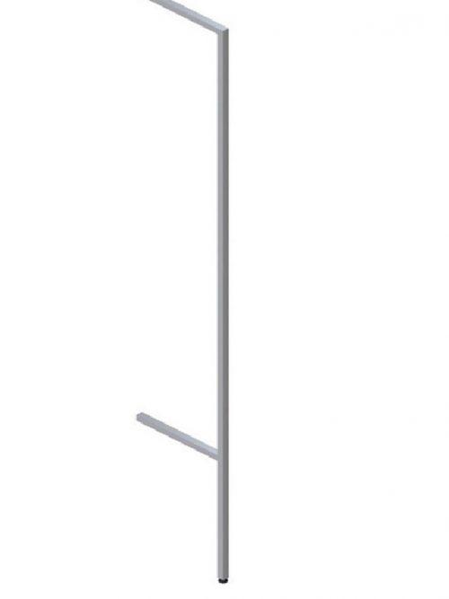 Vertikala zidna O  40x30mm izbačena za korak 50mm