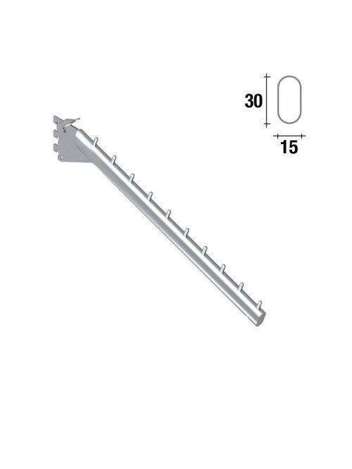 Queen kos frontalni nosač 42cm hromiran za korak 25mm